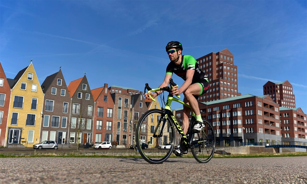 Foto fietser triathlon vathorst amersfoort geert lantink