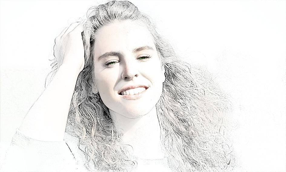 Mooi meisje model dat poseert voor fotoshoot tips voor poseren